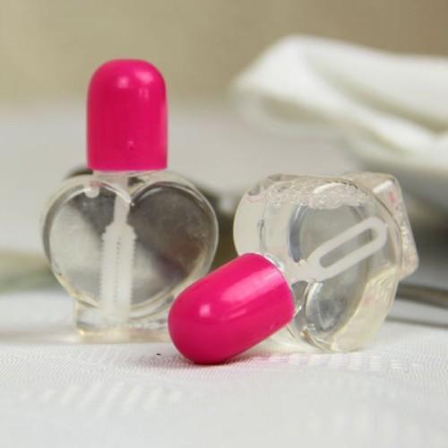 Srček  mehurčki- pink