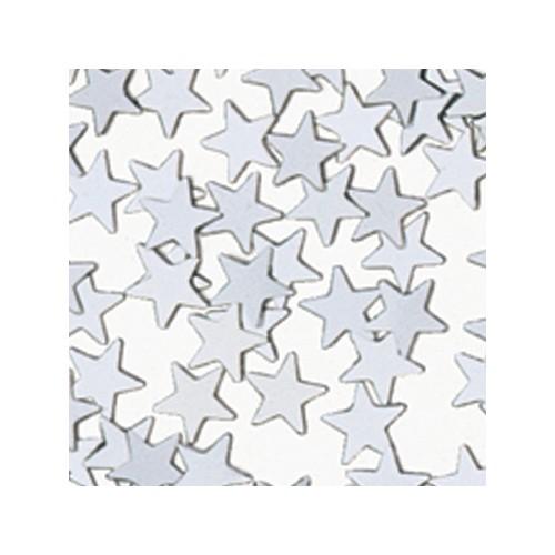 Konfetki - Silver Stars Mini