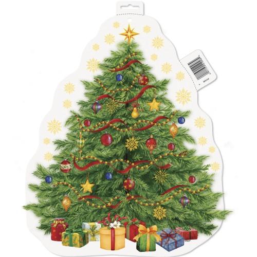 Cutout Starry Christmas Tree