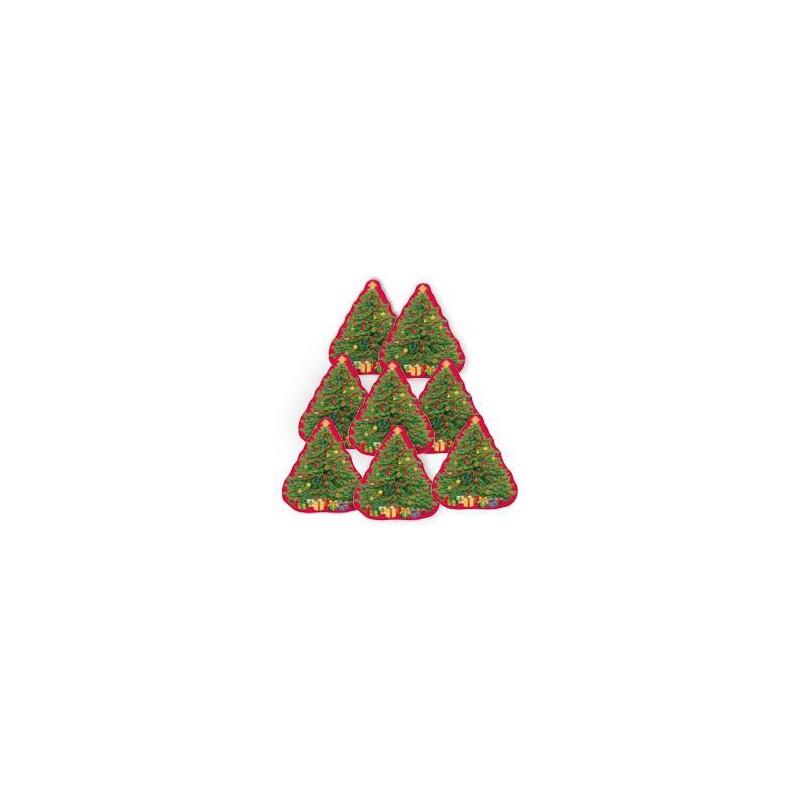 Christmas Tree Cutout.Magicballons New Year Party Mini Cutout Starry Christmas Tree