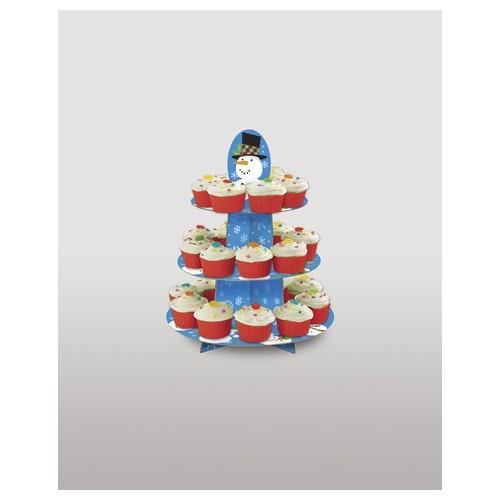 Cupcake Weihnachtsbaum