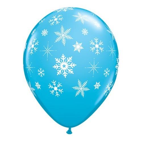 Blue  Snowflakes & Sparkles
