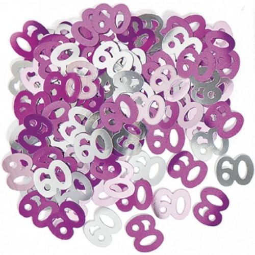 Konfeti - 60 roza