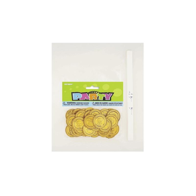 30 piratskih zlatih kovancev