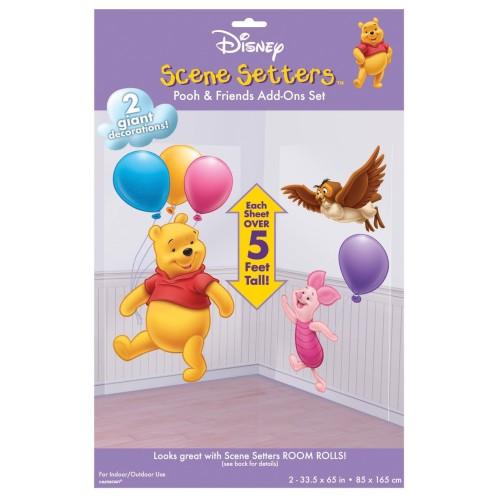 Scenne setter- Pooh & Piglet & Owl