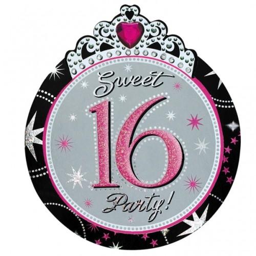 Sweet 16 Luxus-Einladungen