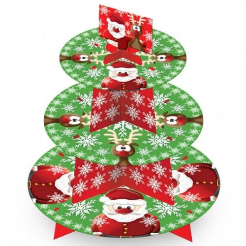 Weihnachten Cupcake Baum