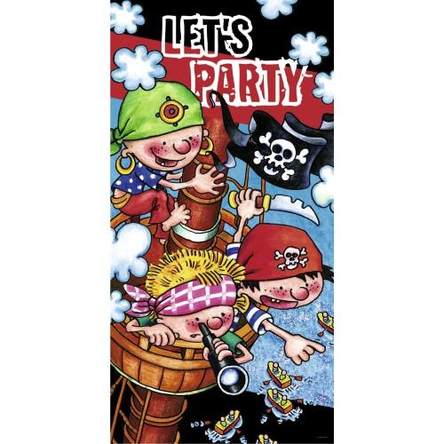 Let's party -Türbanner