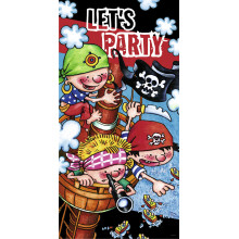 Let's party - gusarski plakat