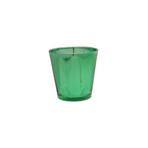 Green tealight holder