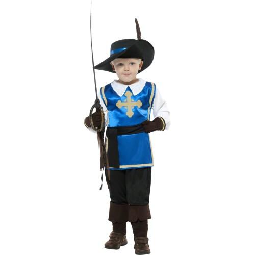 Mali mušketir kostum
