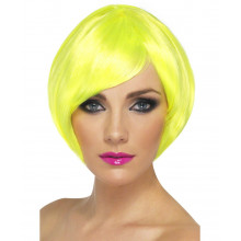 Babe neon yellow  wig