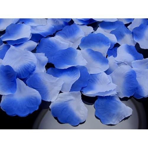 Rose petals- blue