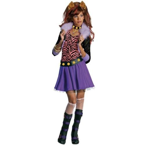 Monster High Clawdeen Wolf kostum
