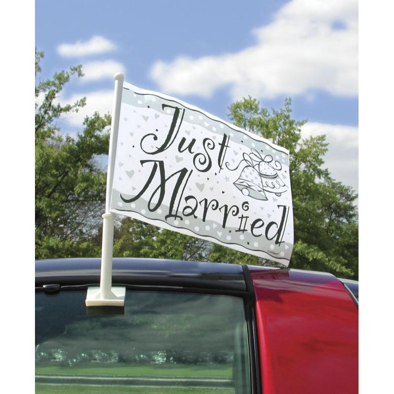 Zastava Just married za avtomobile