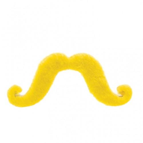 Yellow moustache