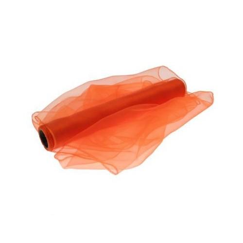 Organza temno oranžna