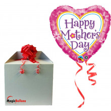 Mother's Day Daisies & Hearts  - helium balloon
