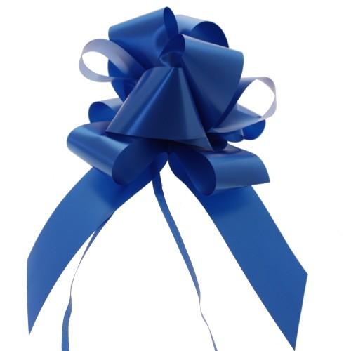 Pull bow royal blue 5 cm