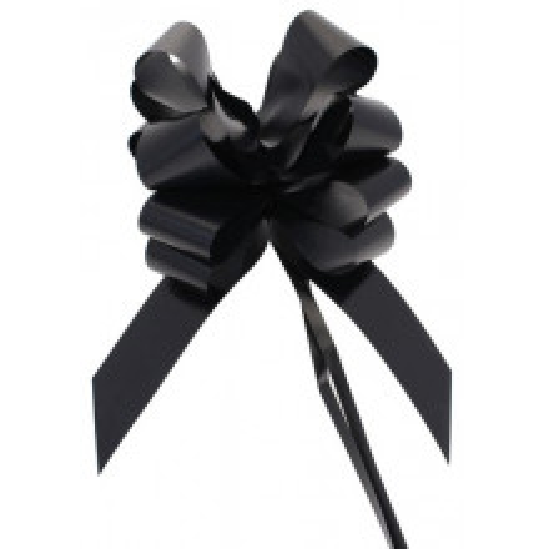Pull bow black 5 cm
