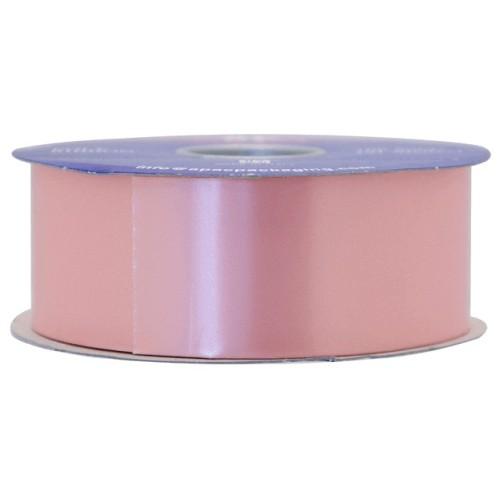 Soft pink poly ribbon