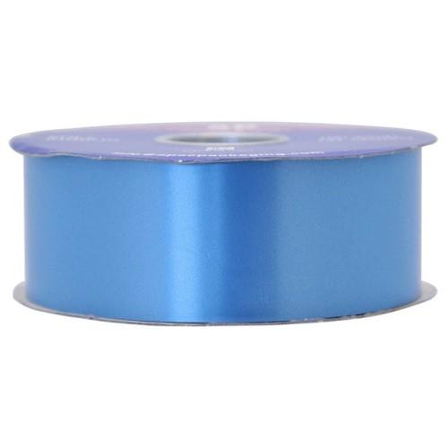 Azure blue poly ribbon