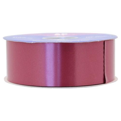Burgundy poly ribbon