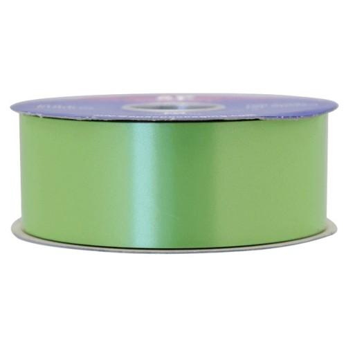 Lime green poly ribbon
