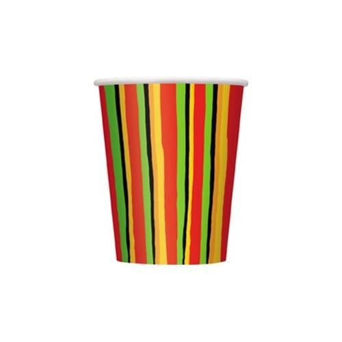 Fiesta Stripes cups