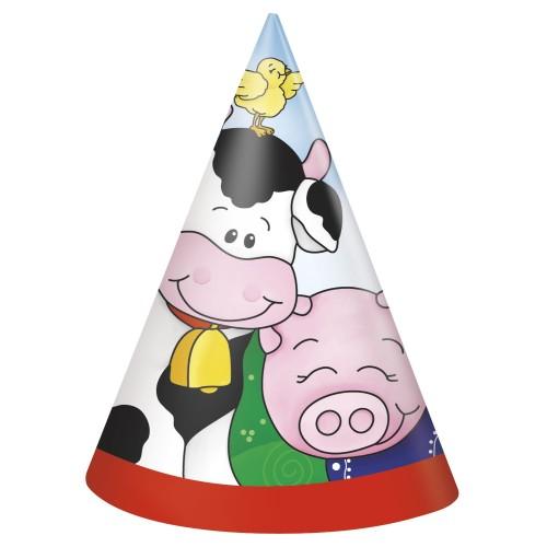 Farm Friend party hat