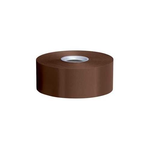 Chocolate brown poly ribbon