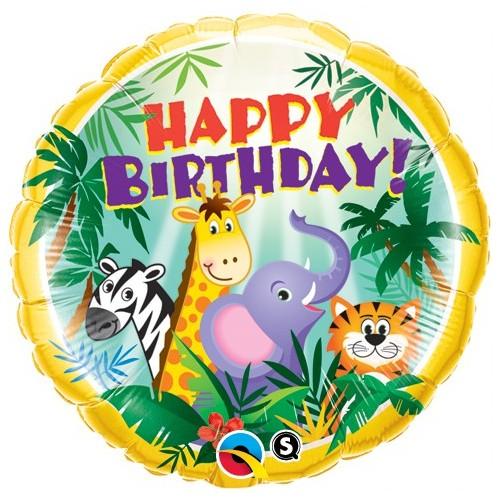 Birthday Jungle Friends