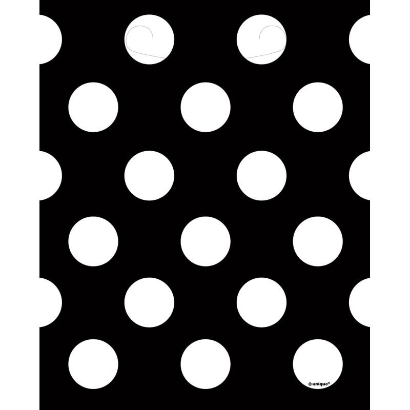Črna torba s pikami