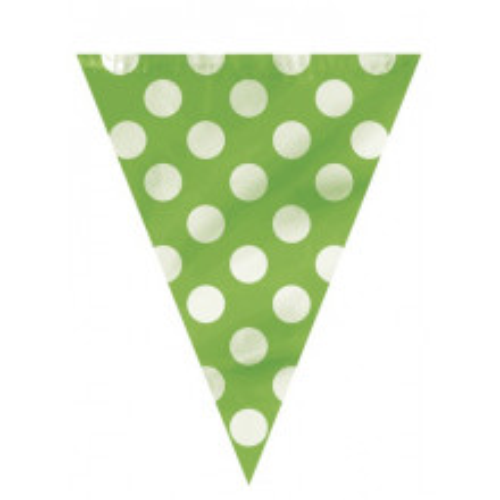 Zelene zastavice s pikami