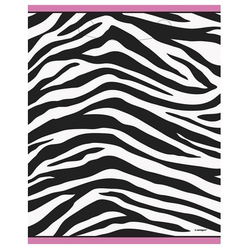 Zebra party vrečke