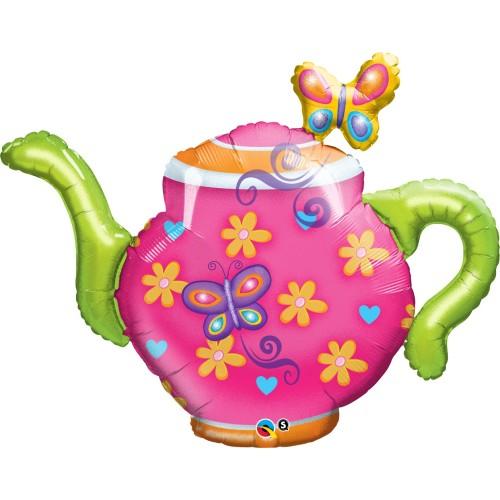 Teapot & Butterflies