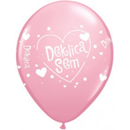 Deklica sem -  balloons