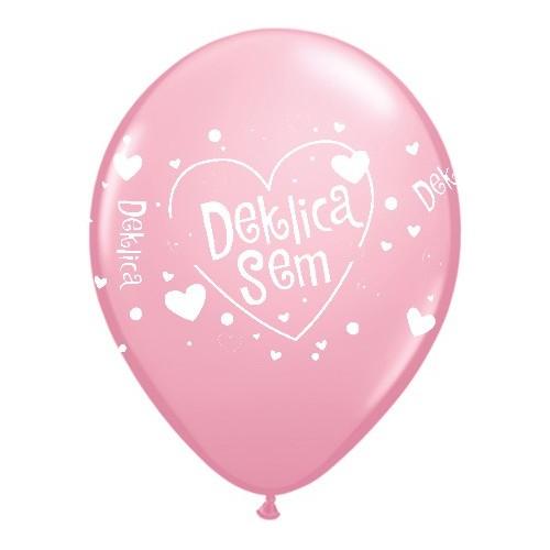 Balon - Deklica sem