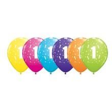 Potiskan balon številka 1