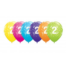 Printed balloons - number 2