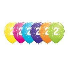 Potiskan balon številka 2