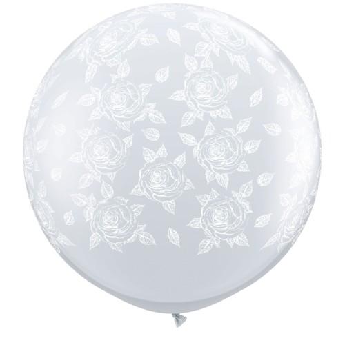 Giant balloon - Elegant roses