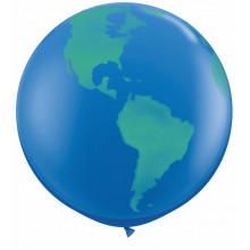 Veliki tiskani balon - globus