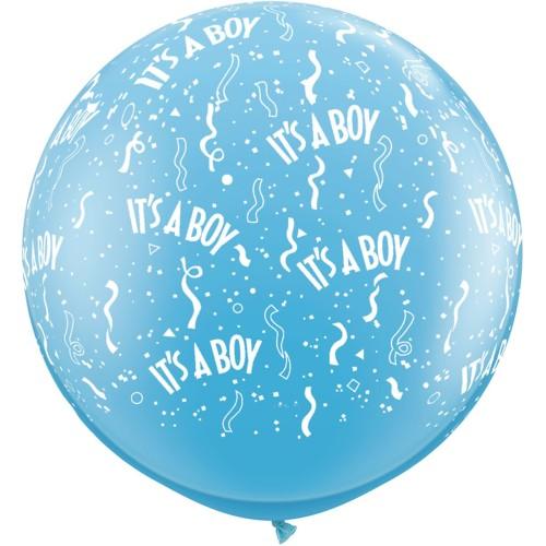 Veliki tiskani balon - It's a boy
