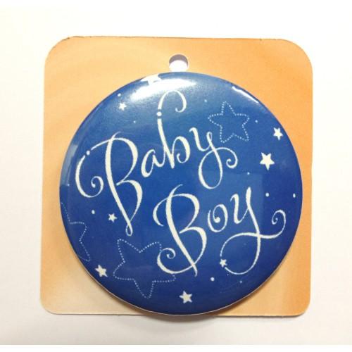 Button Anstecker Brosche - Baby Boy