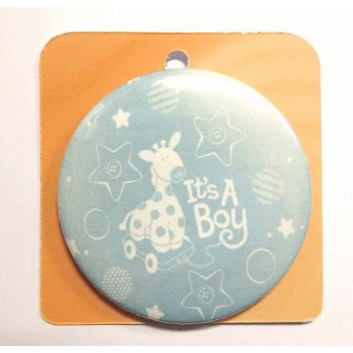 Button Anstecker Brosche - It's a boy