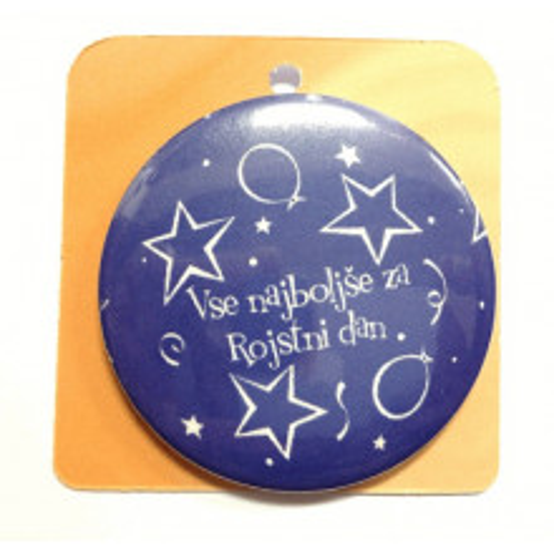 Button Anstecker Brosche - Vse najboljše za rojstni dan