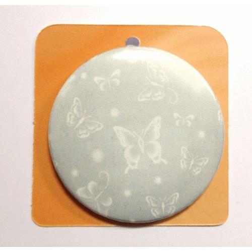 Button Anstecker Brosche - Schmetterling