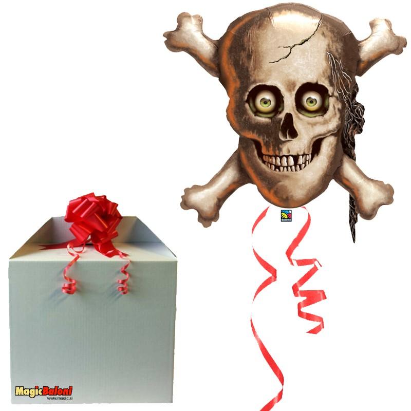 Gusarji - Balon Kostko glava - napihnjen