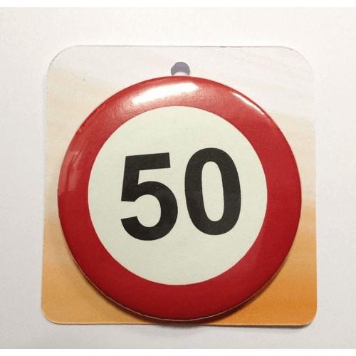 Cestni znak priponka - številka 50